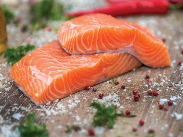 can a salmon-rich diet prevent hearing loss